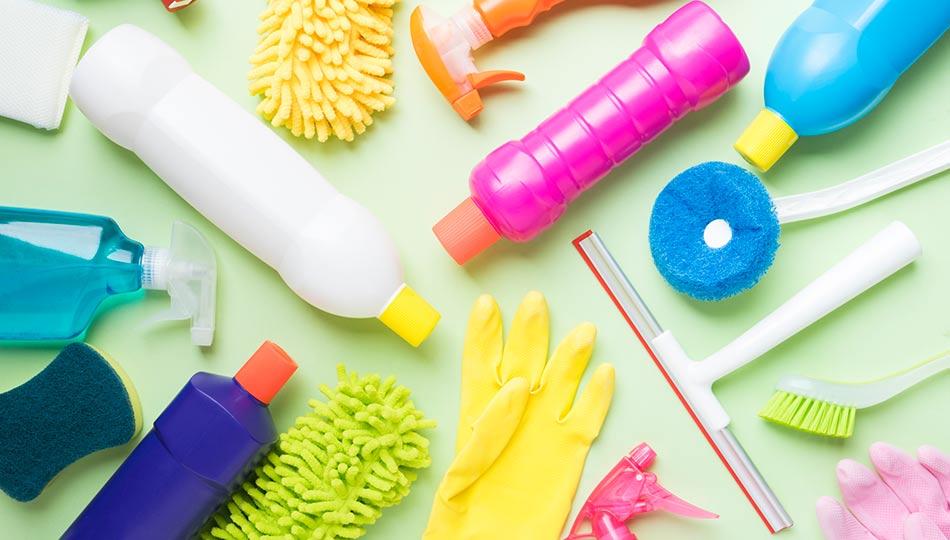 bra rengöringsprodukter att ha hemma